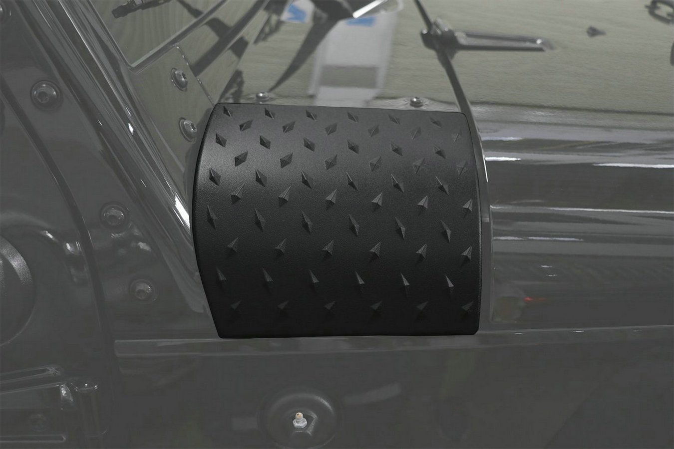 Bentolin Upgrade Black Cowl Body Armor Powder Coated Finish Outer Cowling Cover for for Jeep Wrangler JK JKU Unlimited Rubicon Sahara X Off Road Sport Exterior Accessories Parts 2007-2017