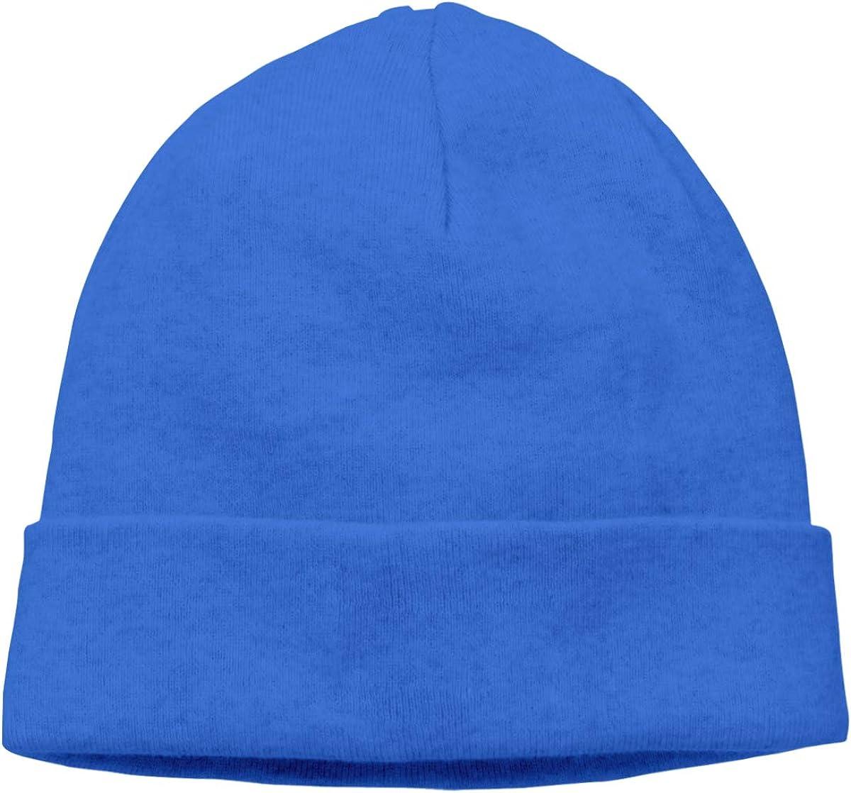 Sun Beach car Skull Cap Beanie Cap for Men Blue