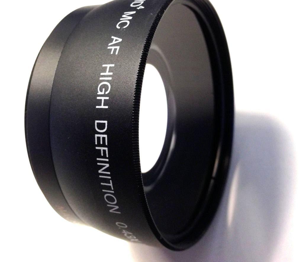 Vivitar HD4 Optics Wide Angle W/Macro Lens For Sony Alpha A6000 ILCE-6000 NEX-3N (40.5mm Compatible) by -vivitar