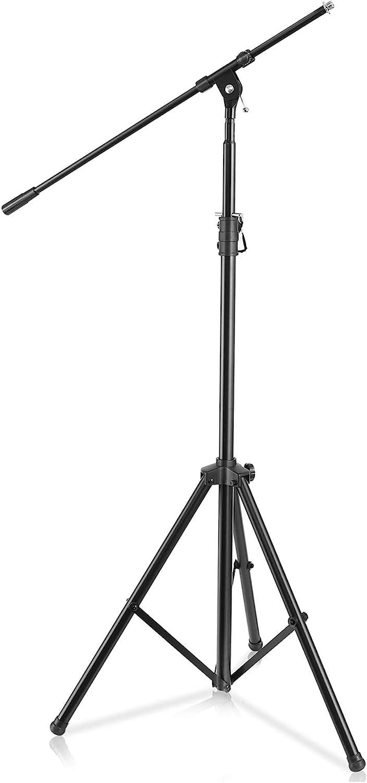 2X Tisch Mikrofon Ständer Höhen Verstellbarer Disc Mikrofon Ständer Tragbar M9L6