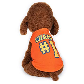 Sylar Ropa para Mascotas, Chaleco Cuello Redondo para Perros ...