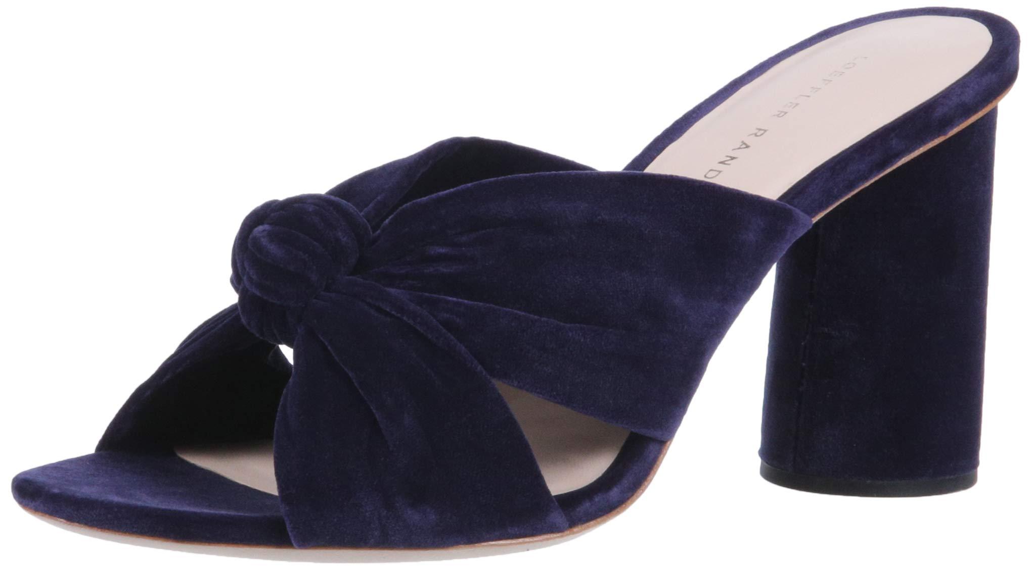 Loeffler Randall Women's Coco-VL Slide Sandal, Eclipse, 7 Medium US