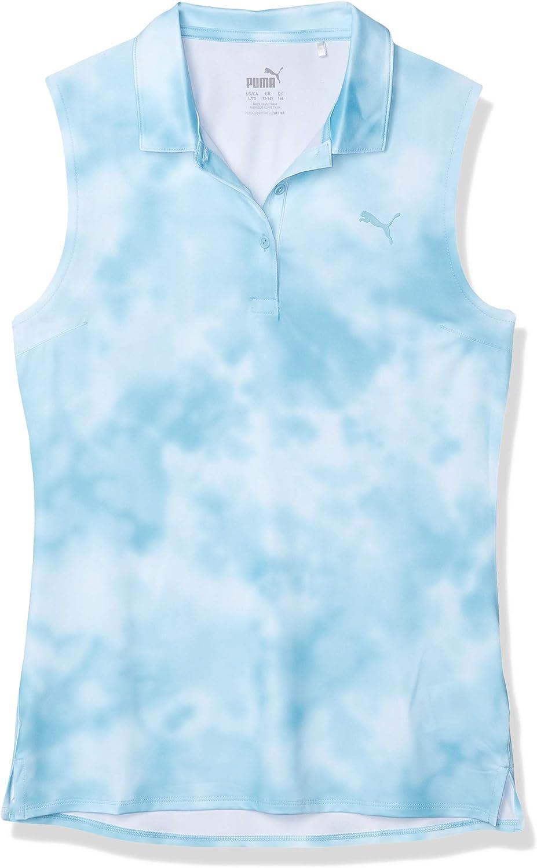PUMA Girl's shop Golf 2020 Dye Polo Al sold out. Tie Sleeveless