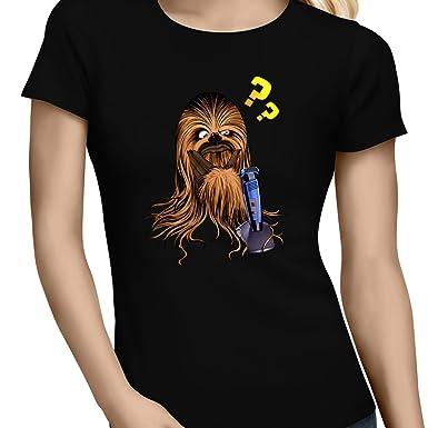 Parodie auf Chewbacca von Star Wars Damen T-shirt (626)