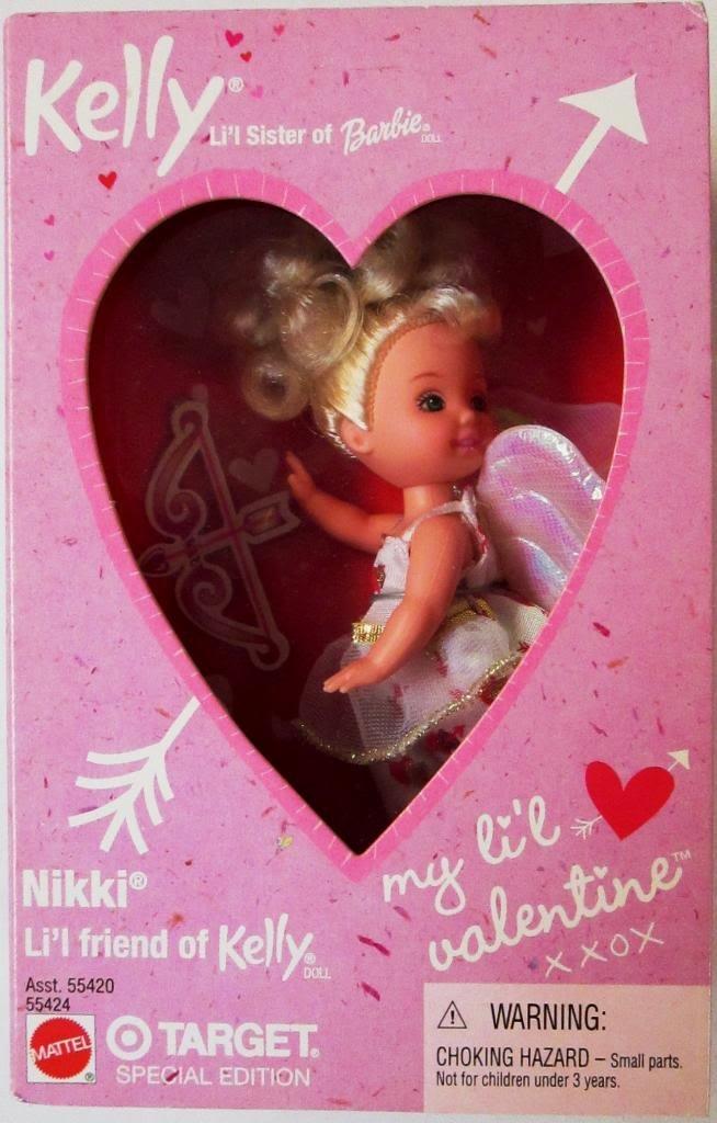 NIKKI Little My Little Target Valentine Doll Kelly Doll 2001 Target B003YR8JS6, miyabi:a2327de1 --- arvoreazul.com.br