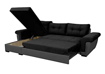sofafox corner sofa bed storage amazon co uk kitchen home rh amazon co uk storage sofa bed singapore storage sofa bed ikea