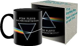 Aquarius Pink Floyd Dark Side 11 oz Boxed Ceramic Mug,Multicolor,8