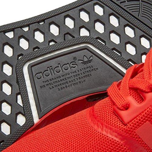 Adidas Bb1970 Män Nmd_r1 Röd / Vit