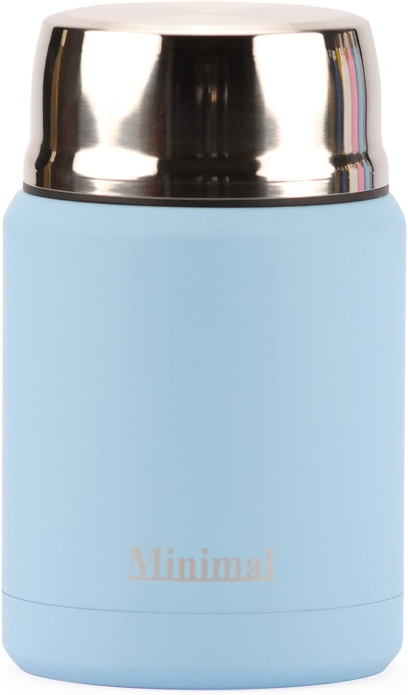 Minimal, Food Jar Stainless Insulated 500ml Limpet