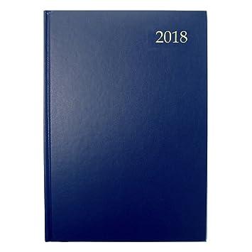 Collins ESSA41-2018 BLUE Essential - Agenda tamaño A4 con ...
