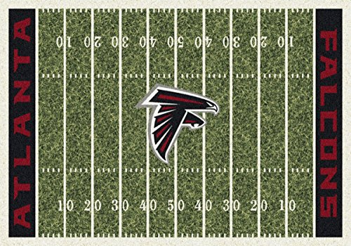 Atlanta Falcons NFL Team Home Field Area Rug by Milliken, 5'4