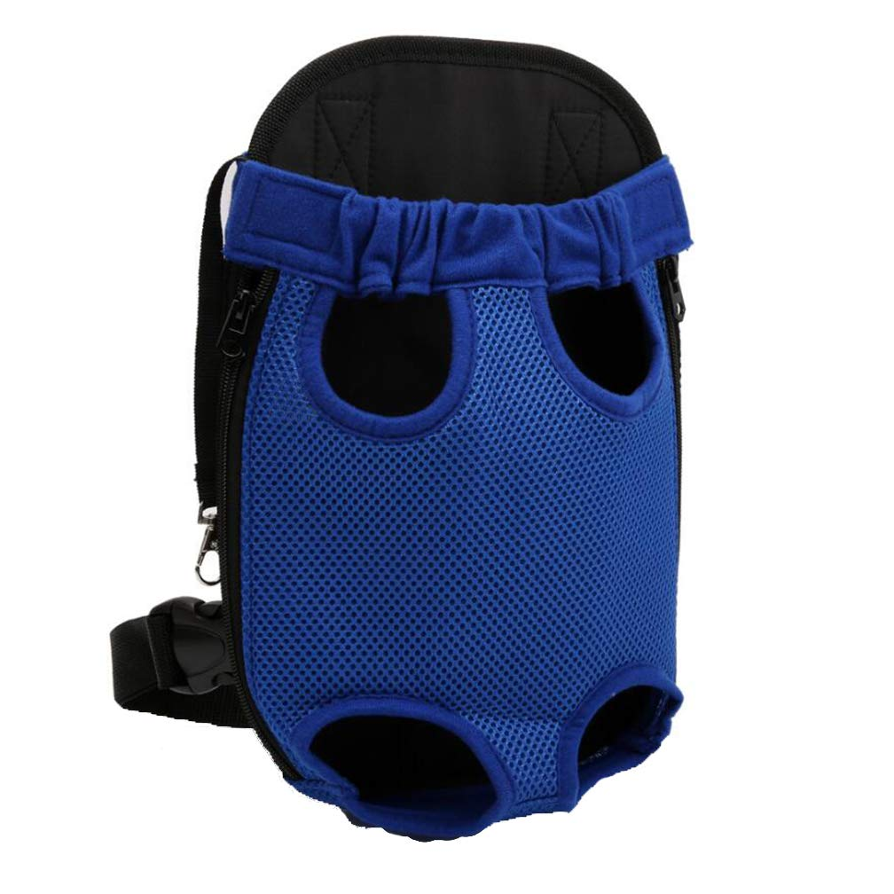 bluee Small bluee Small Pet Backpack Backpack, Front Chest Backpack, Adjustable Pet Backpack, Front and Rear Facing for Travel or Outdoor Pets