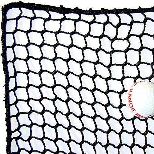10' High X 10' Wide Golf Barrier & Containment Netting, #21 Polypro Netting, Serged Cord Edge Bordering, Golf, Baseball, Softball, Hockey, Lacrosse, Soccer, Basketball, Tennis, Multipurpose