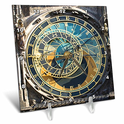 3dRose dc_81259_1 Astronomical Clock Orloj Prague Czech Republic - Astronomical Clock Prague