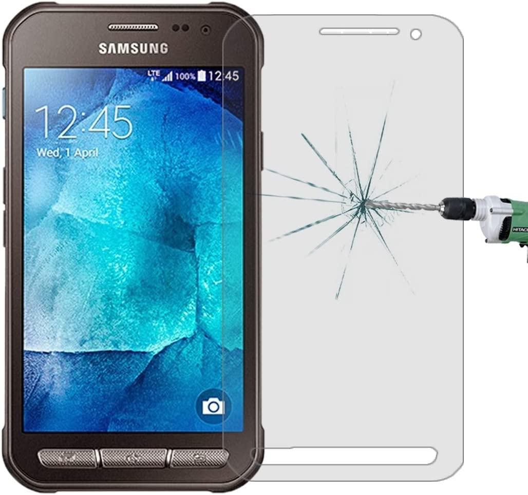 G388F 0.26mm 9H Surface Hardness 2.5D Explosion-Proof Tempered Glass Film No Retail Package Phone Glass Film HUFAN 50 PCS for Galaxy Xcover 3