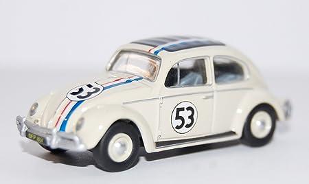 Vw Käfer Export Herbie No 53 1963 Modellauto Fertigmodell Oxford 1 76 Spielzeug