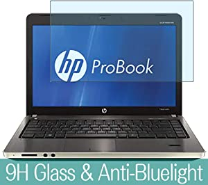 """Synvy Anti Blue Light Tempered Glass Screen Protector for HP ProBook 4730s 17.3"""" Visible Area 9H Protective Screen Film Protectors"""