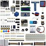 led development board - UCTRONICS Ultimate Starter Learning Kit for Raspberry Pi 3 w/Tutorial, ADXL345, GPIO Cable, DC Motor, HC-SR04 Ultrasonic Distance Sensor, LED Displays (205 items)