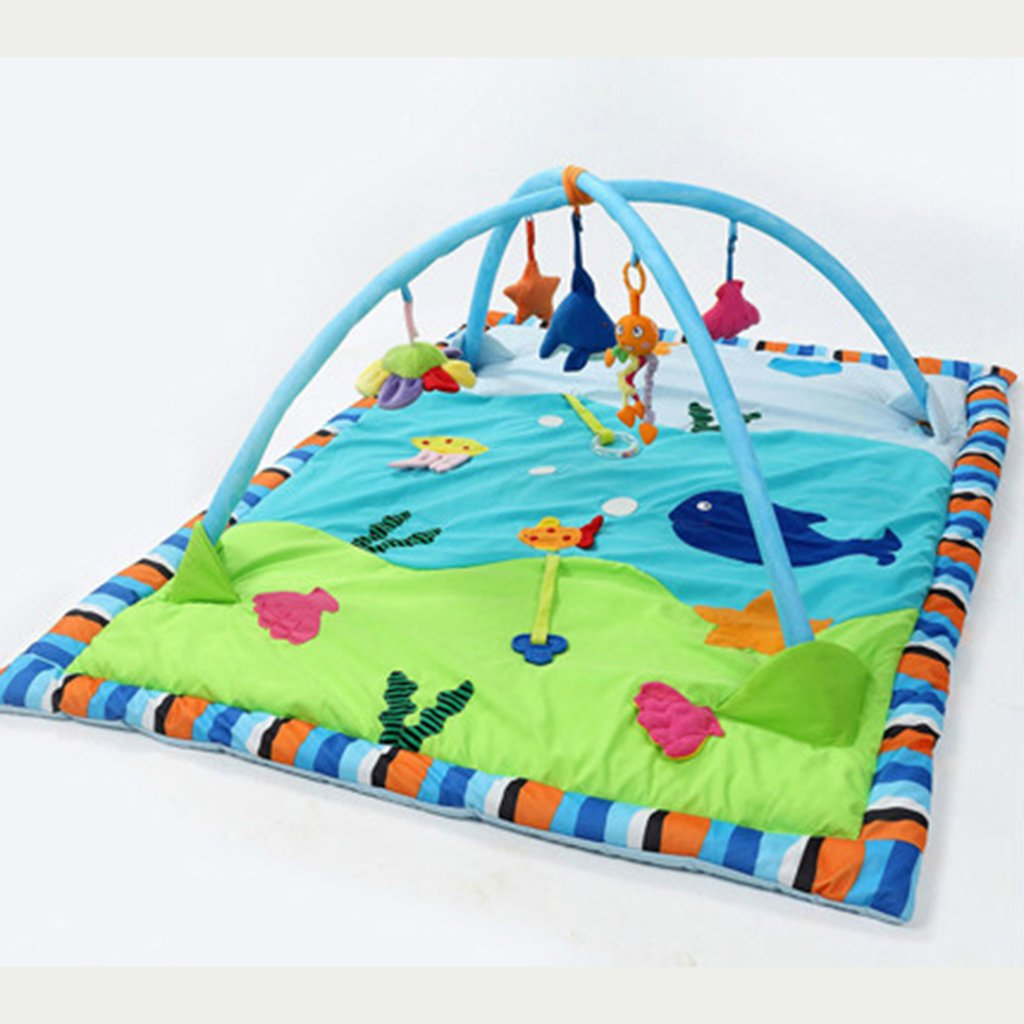 Dovewill Baby Toys Animals Educational Crawling Activity Mat Play Gym Carpet Puzzle Mat - Ocean, as described by Dovewill (Image #8)