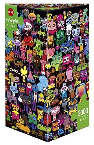 Heye Triangular Hi There Burgerman Puzzles (2000-piece)