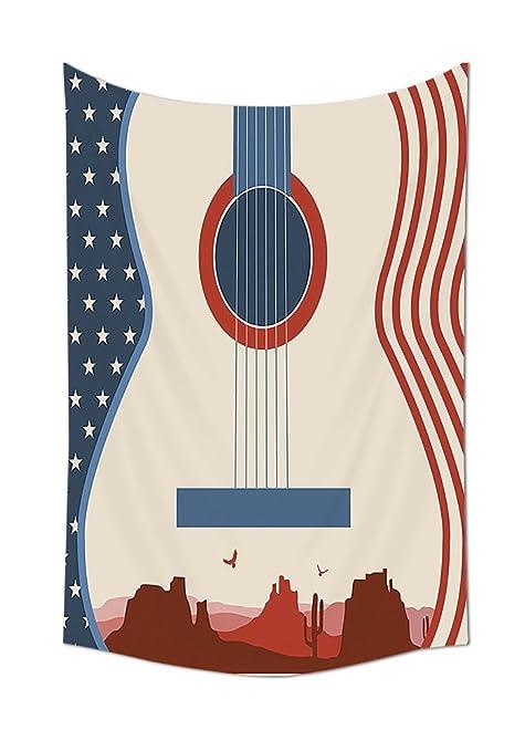 Música Decor Tapestry país Festival de música caso ilustración ...