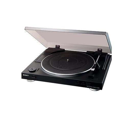 167 opinioni per Sony PS-LX300USB Giradischi USB, Servomotore Controllato DC, S-Shape, MP3, 50