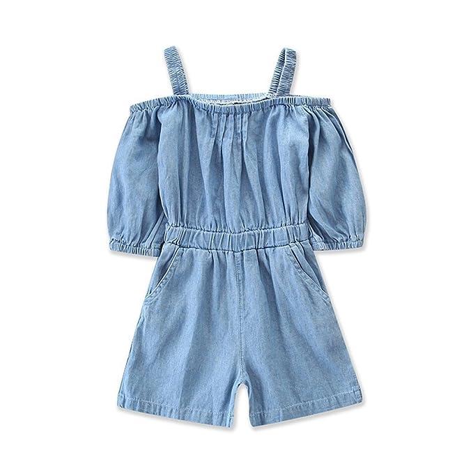 Amazon.com: BOIZONTY - Traje de vaquero para bebés y niñas ...