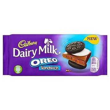 Amazon cadbury dairy milk oreo sandwich chocolate bar 92g cadbury dairy milk oreo sandwich chocolate bar 92g pack of 4 thecheapjerseys Choice Image