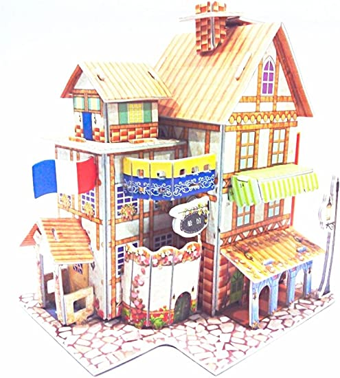 3 D Puzzle Doll House