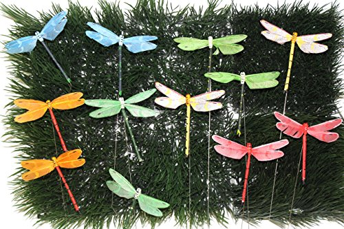 - Artificial Feather Butterfly (dragonfly 4'')