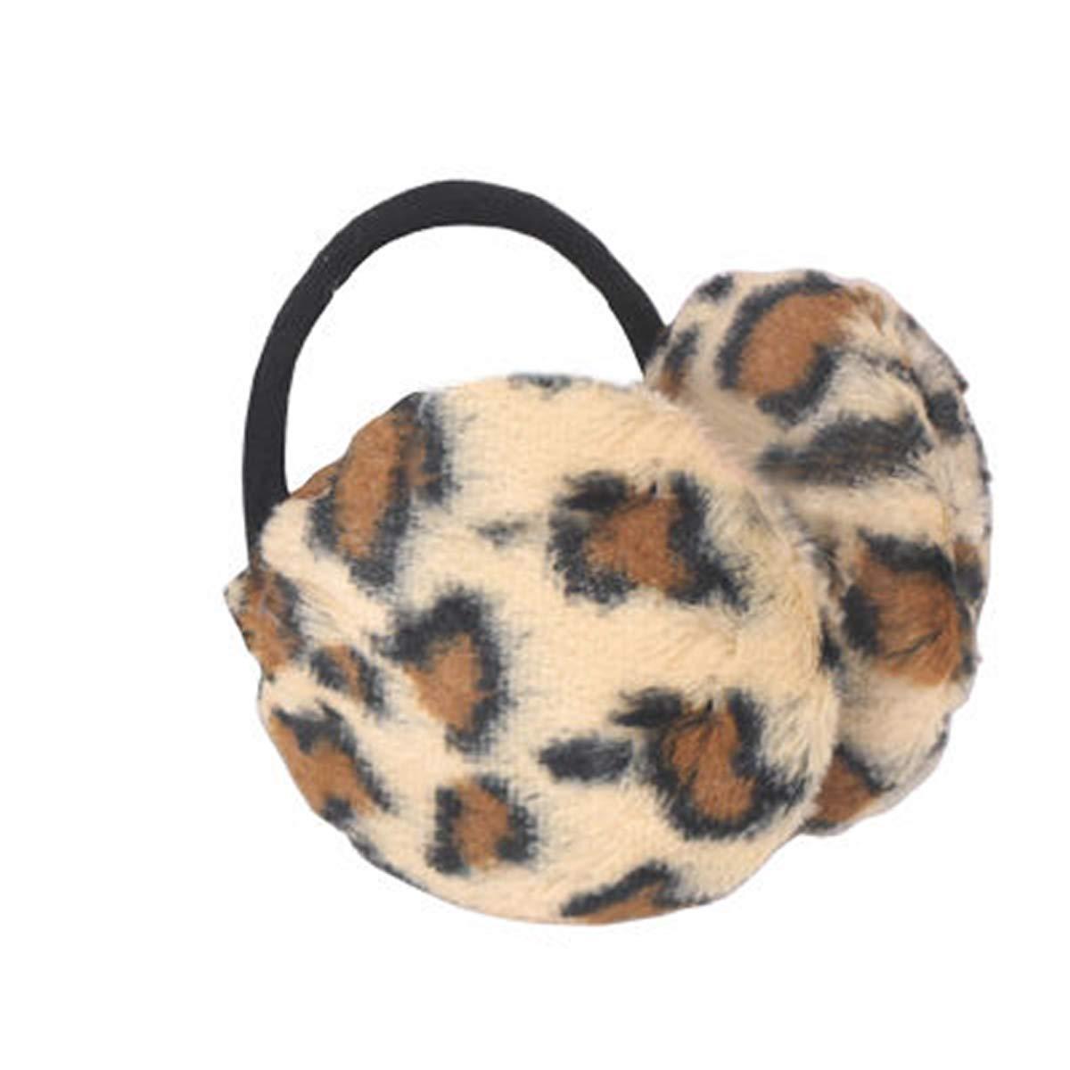 Unisex Animal Print Ear muffs Earmuffs Ear Warmers Headwear Winter Headband Tiger Leopard