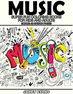 Adult Coloring Books Music Volume 4 Beth Ingrias