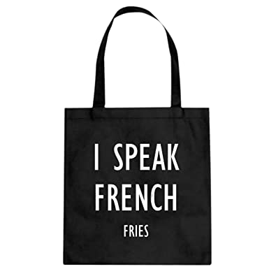 Amazon.com: Indica Plateau I Speak patatas fritas bolsa de ...