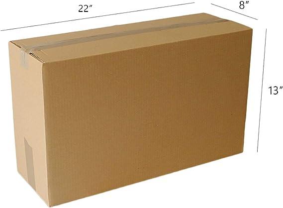 5 10 20 40 x cajas de cartón grandes de tamaño grande y fuertes, cajas de cartón para mudanzas, color 25,4 cm x 40,6 cm x 30,5 cm.: Amazon.es: Oficina y papelería