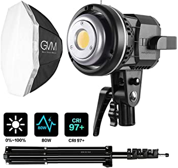GVM 80W LED Continuous Output Lighting Kit