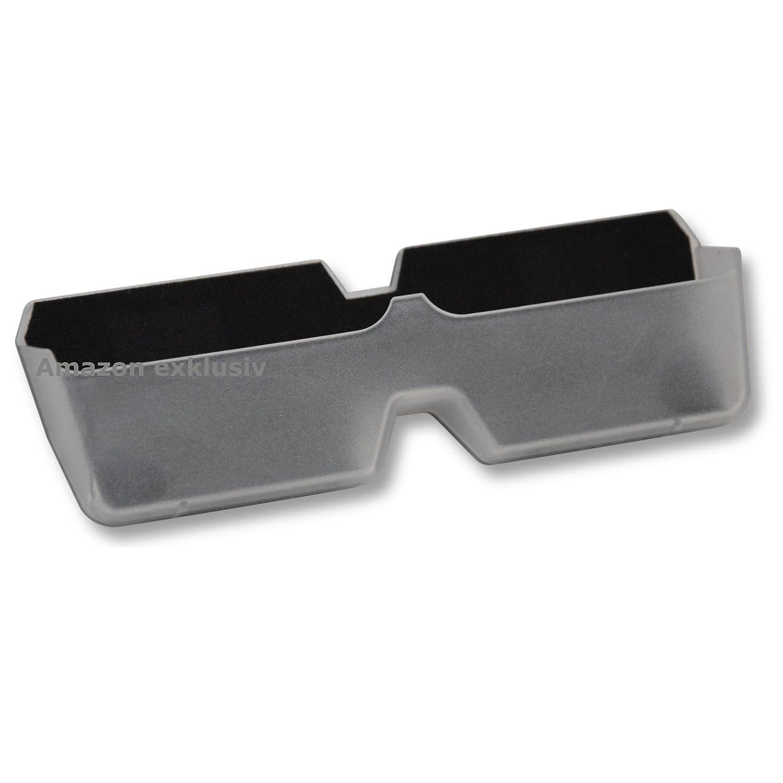 Auto KFZ Brillenablage SLIM CLEAR Brillen Halter Halterung HR Autocomfort 300002