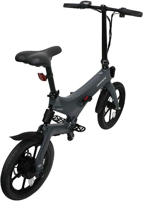 IWATMOTION iWatScooter eScooter Eléctrica Plegable iRider Gris: Amazon.es: Deportes y aire libre