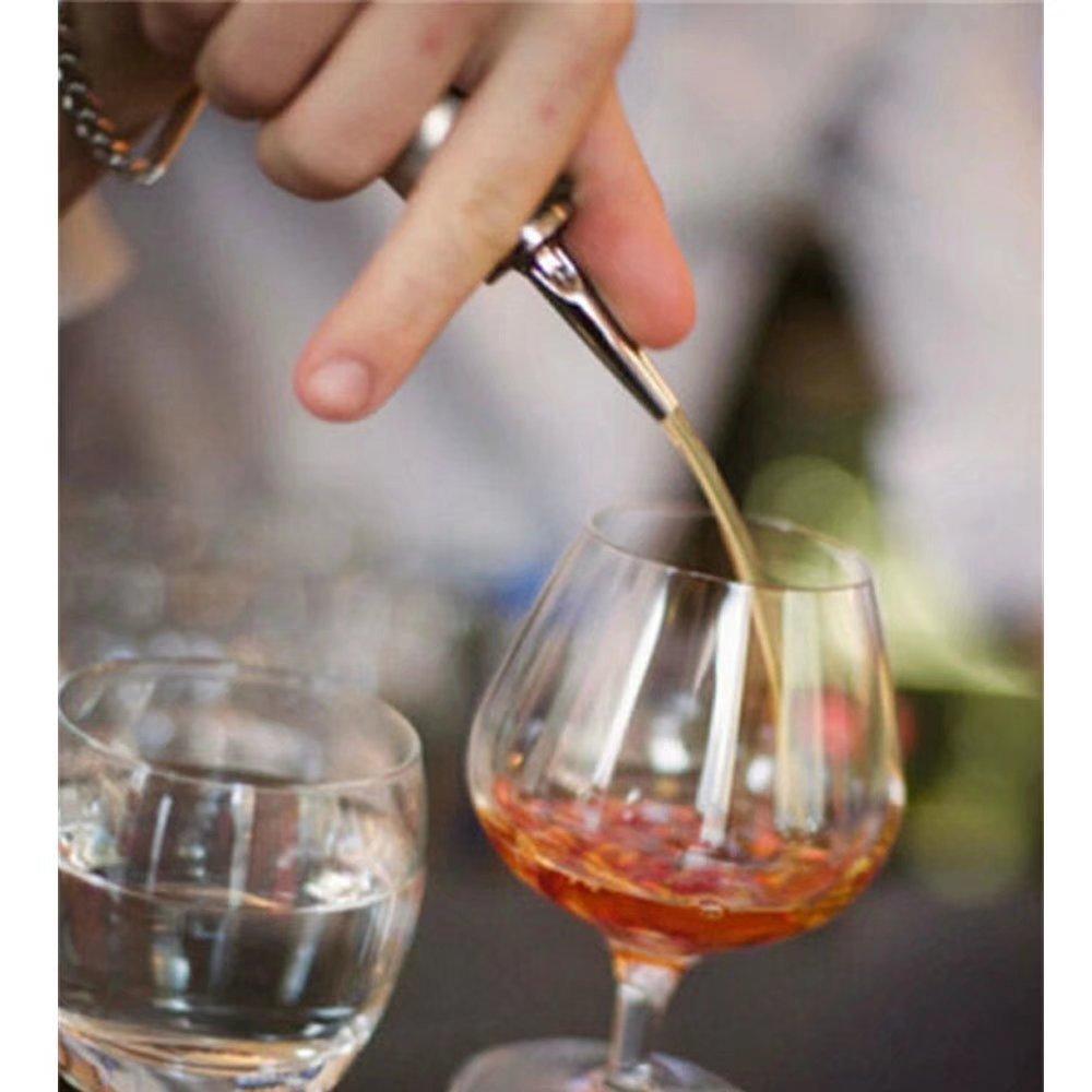 paddsun barware acero inoxidable botella Pourer Boquilla ...