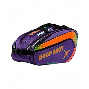DROP SHOT Matrix Paletero, Color Morado: Amazon.es: Deportes y aire libre