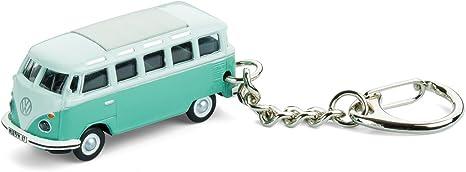 Corpus Delicti Schlüsselanhänger Mit Vw Bus T1 Samba Bulli Türkis Modellauto Für Alle Auto Und Oldtimerfans 20 9 33 Küche Haushalt