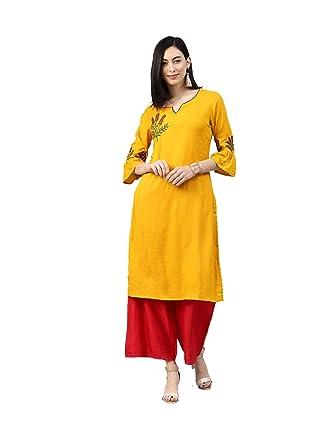 81d2ad01c066e Amazon.com: Long Kurti Buy Hiral Designer Long Printed Latest Indian ...
