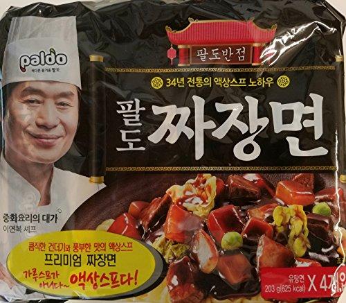 Paldo Premium Jjajang Noodle 4-Pack
