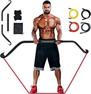 OTEKSPORT Gorilla Bow Home Gym Portable Resistance Bands Set,The Maximum Load Capacity can Reach 500 Pounds,Fitness Equipment System with Full Body Workout, Weightlifting Training Kit for Exercise