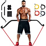 Bow Home Gym Portable Resistance Bands Set,The Maximum Load Capacity can Reach 500 Pounds,Fitness Equipment System with Full