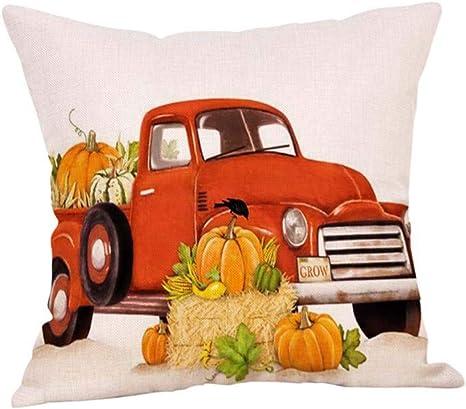 Pillow Home Decor Cover Turkey Case Cushion Square Pillow Car Thanksgiving NEW