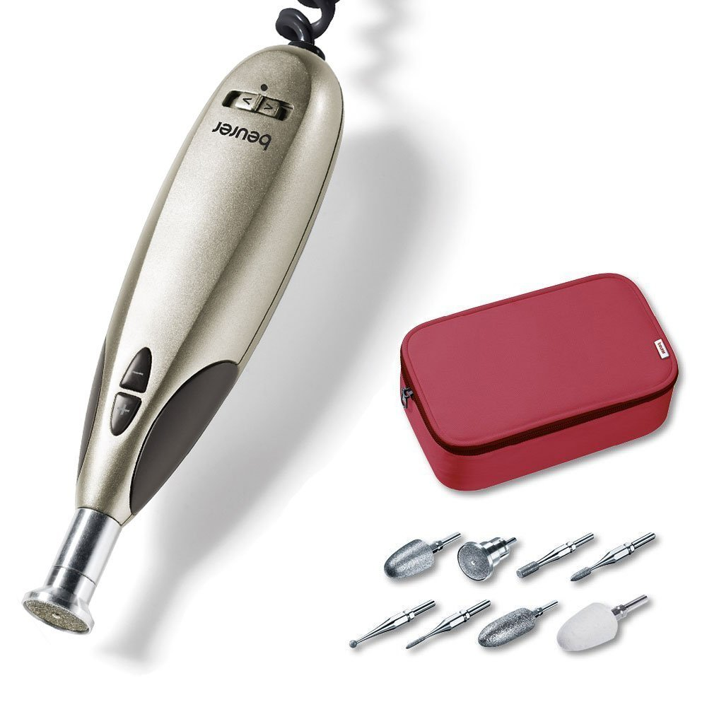 Beurer MP 60 On Pack - Set de manicura y pedicura profesional 570.30 57030 9 aparatos manicura aparatos pedicuras