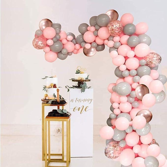 Frauen Happy Birthday Party Hintergrund Stoff S/ü/ßes Rosa Gold Geburtstag Fotografie Hintergrund mit Luftballons Abs/ätze Rose Champagner f/ür 30 Geburtstag 60 40 72,8 x 43,3 Zoll 50