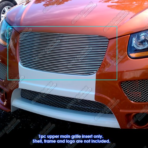 APS Y86627A Polished Aluminum Billet Grille Replacement for select Hyundai Santa Fe Models