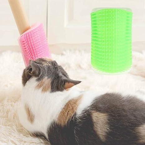Haven shop Cepillo para Gatos, masajeador de Gatos, Cepillo para Eliminar el Pelo de