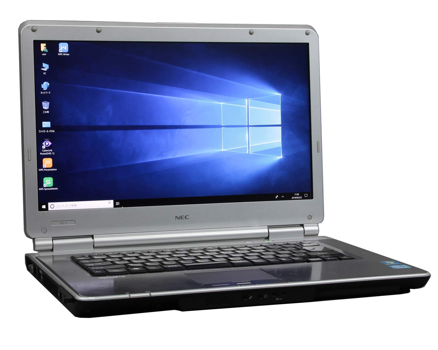 [ MS Office H&B 2010 ] NEC VersaPro VK25MD-C Win10 15.6インチ Core i5 2520M 2.50GHz メモリ4GB HDD250GB [ DVD-ROM ]   B07QZWDSTY